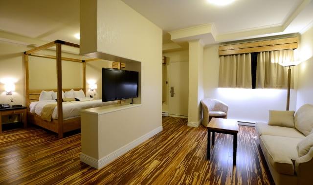 motel avec bain tourbillon rive sud