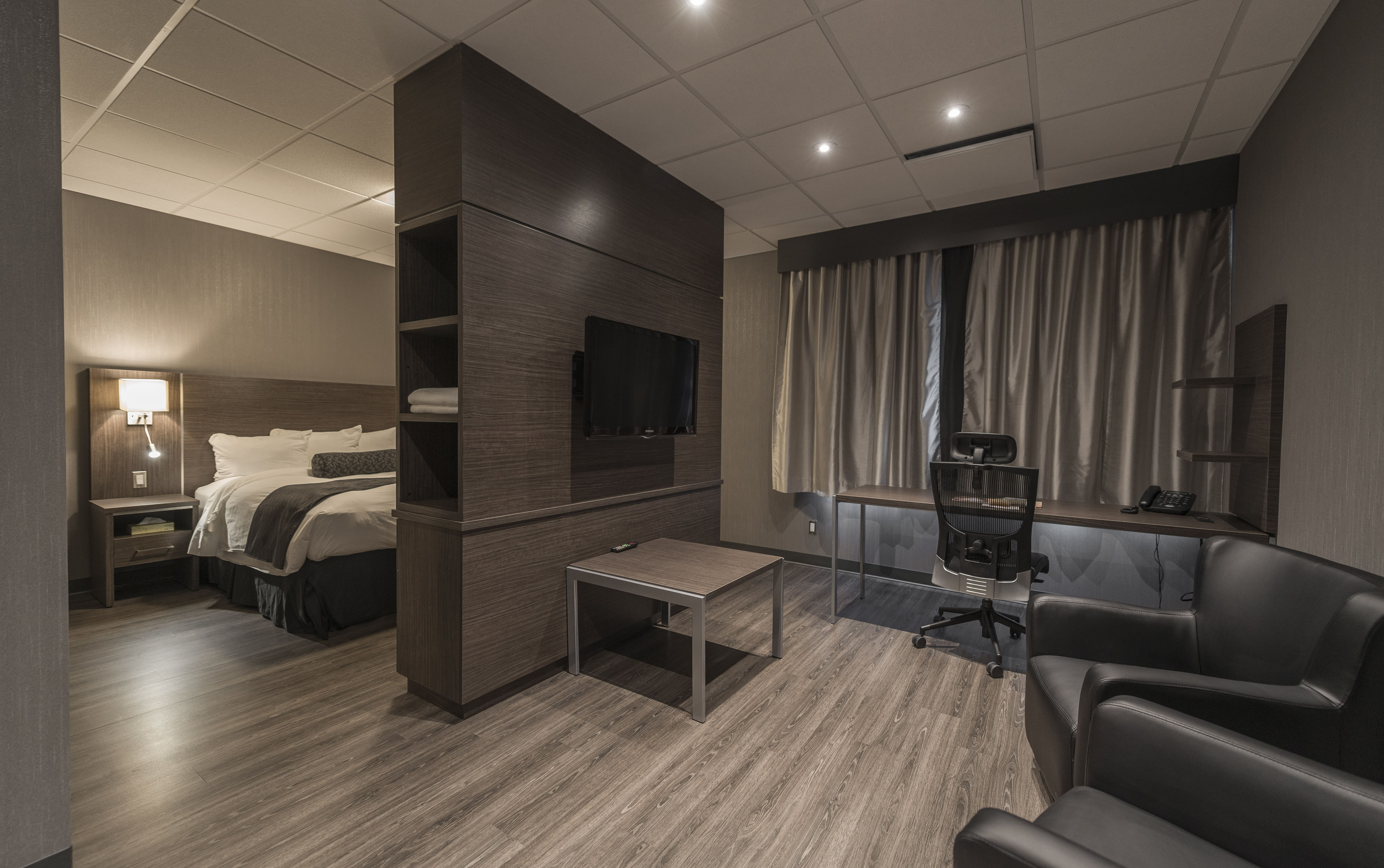 beau deco chambre d hotel. Black Bedroom Furniture Sets. Home Design Ideas