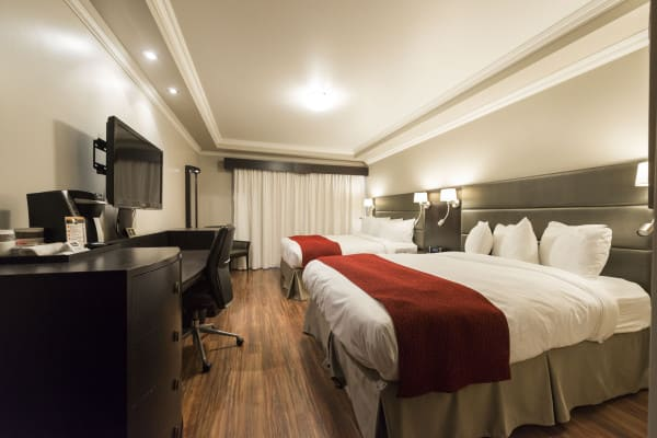 chambre d'hôtel 2 lits