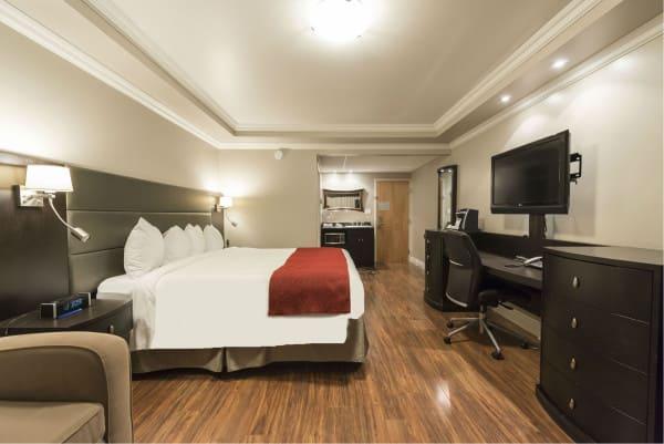 chambre d'hôtel urbaine