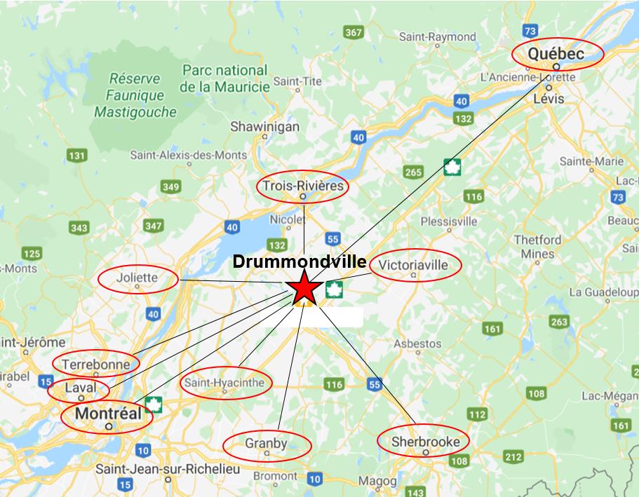 Pourquoi organiser votre événement d'affaires à Drummondville